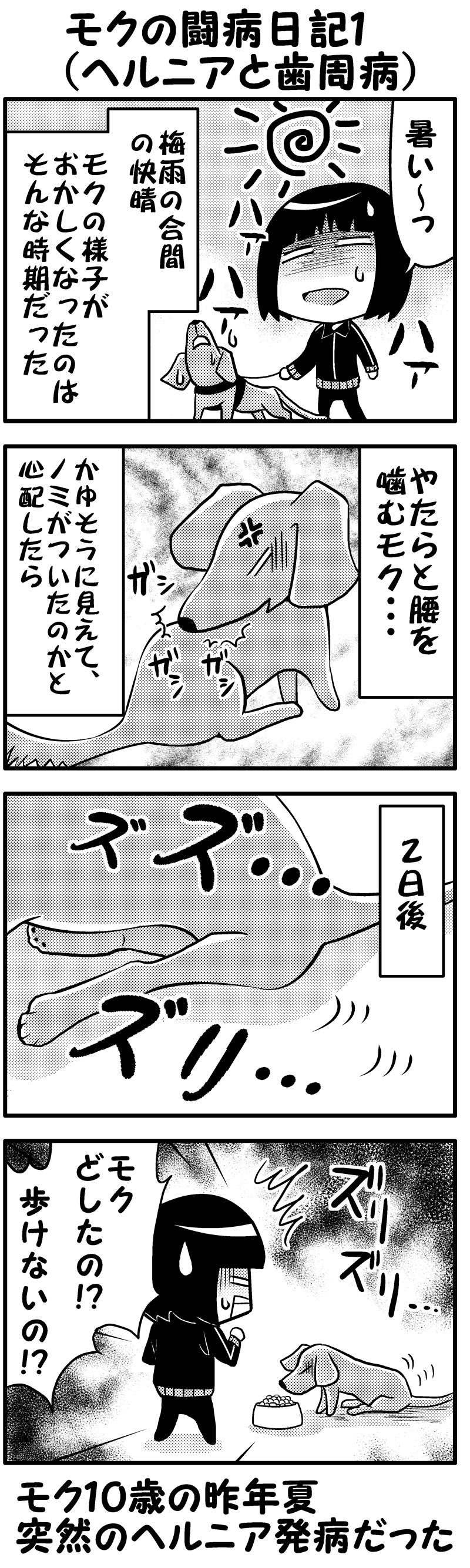 モク闘病日記1