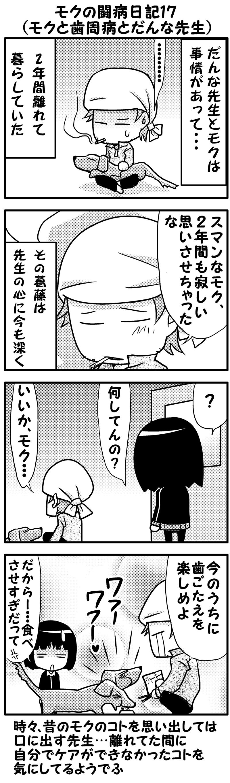モクの闘病日記16~17(後