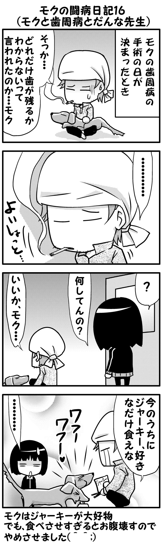 モクの闘病日記16~17(前)
